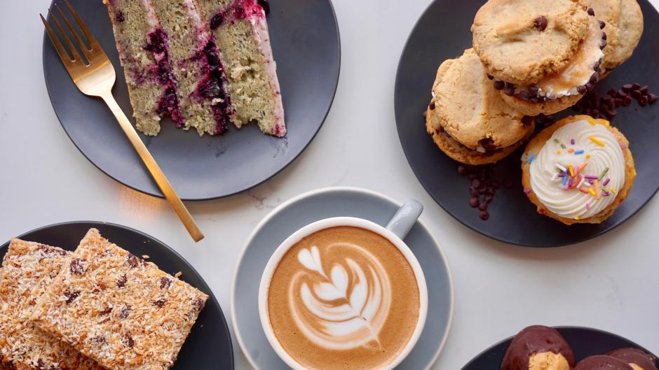 Every donut (and other baked good) at Rise is gluten-free, vegan, and soy-free.