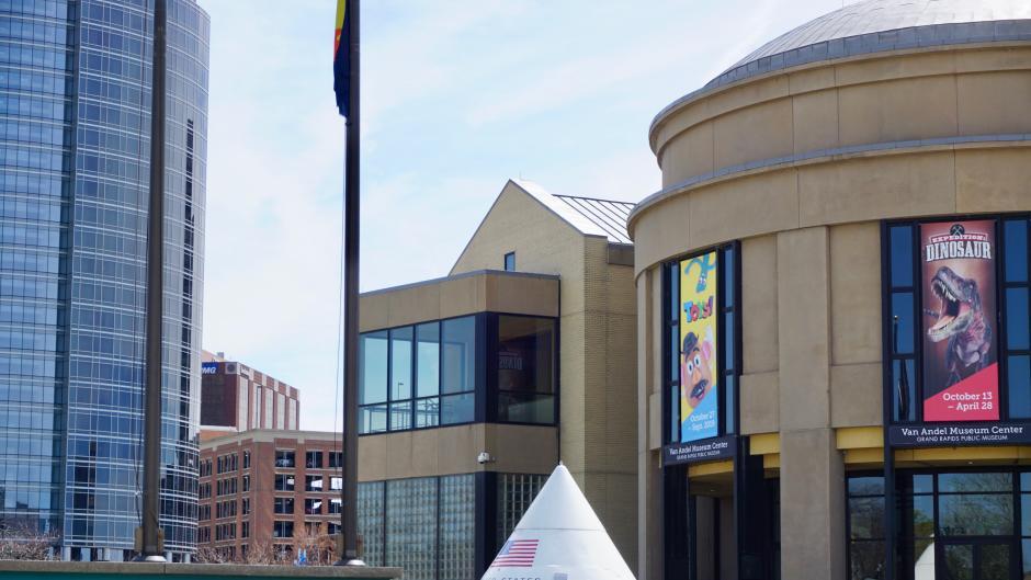 Exterior of the Grand Rapids Public Museum