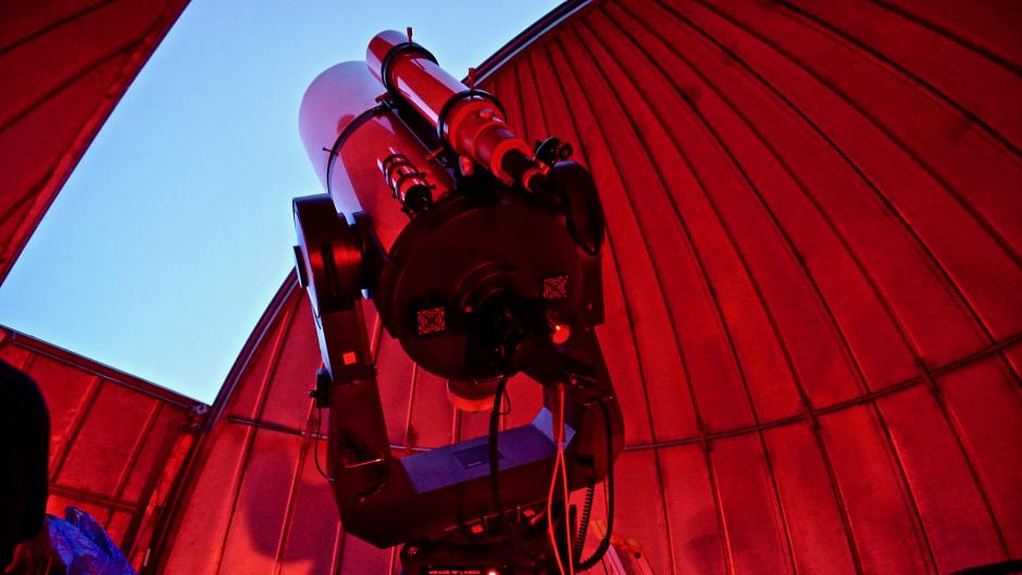 During Public Nights, Veen Observatory is open to the general public, and guests can use its equipment to view the night sky.