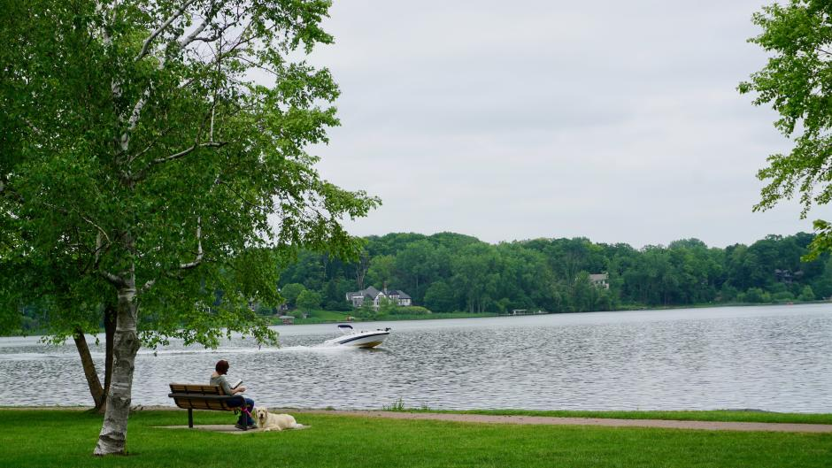 John Collins Park and Reeds Lake
