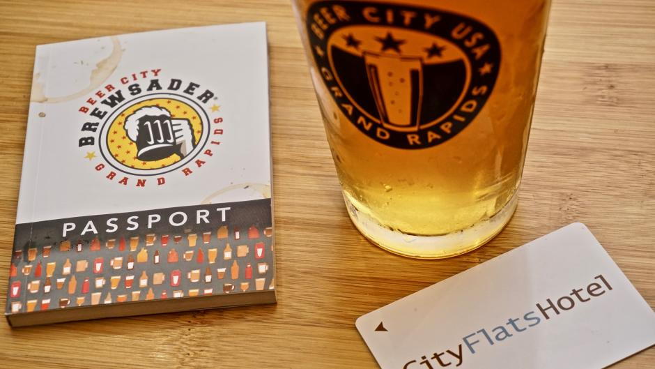 Collect stamps from eight of more than 40 participating breweries to become a Beer City Brewsader®.