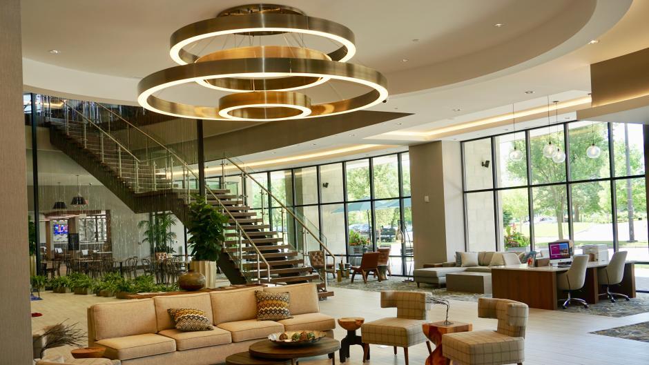 Embassy Suites Hotel Lobby