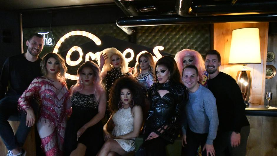 Drag Brunch GR contributes proceeds from ticket sales to HQ, a local nonprofit providing a safe space for youth with unsafe or unstable housing.