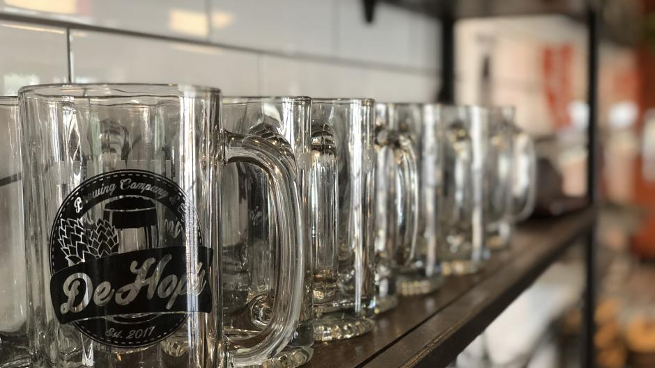 Visit DeHop's Brewing Company and Café to learn more about its mug club.