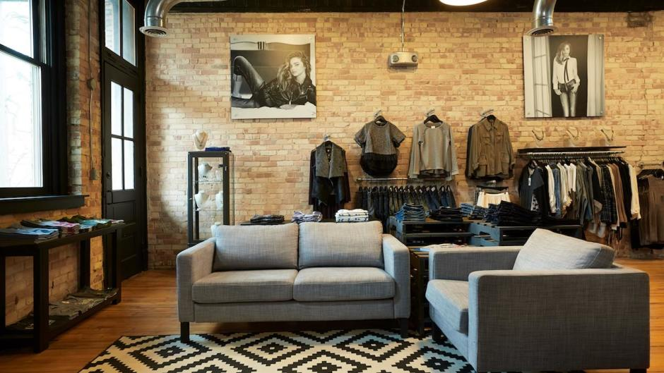 Walk into Denym and it feels as if you entered a high-end boutique in NYC or LA.