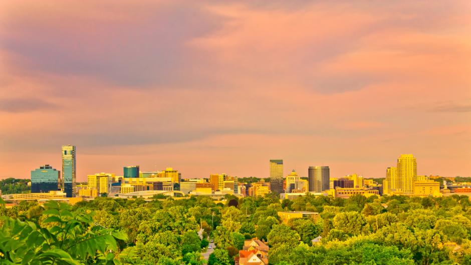 Grand Rapids is a growing city surrounded by nature.