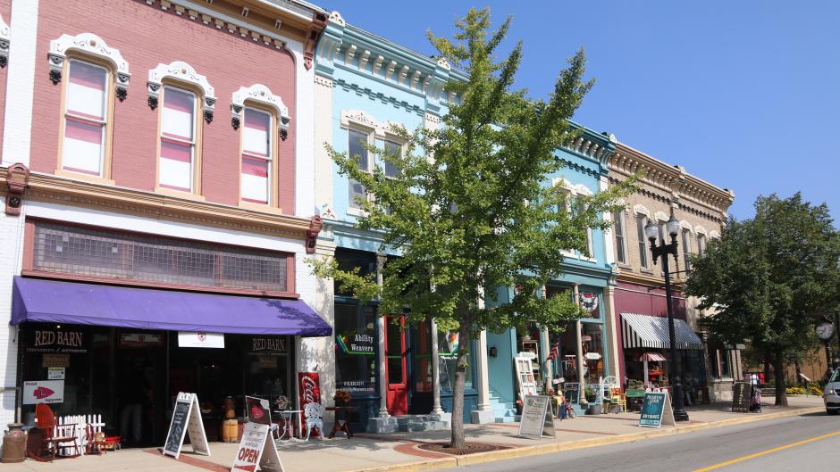 Visit downtown Lowell during to shop at a variety of boutiques.