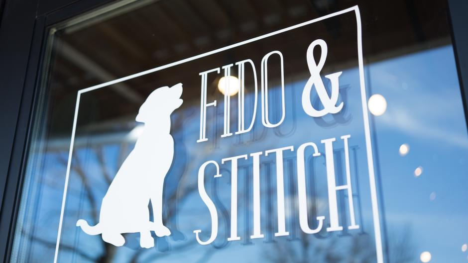 Get all of your four-legged friends' needs at Fido & Stitch. The boutique and salon sells dog toys, treats, food, clothing, and accessories.