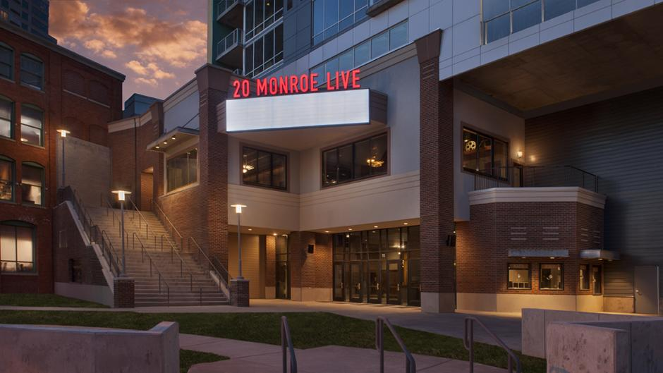 You can find DJ Composition spinning tracks at a variety of venues in Grand Rapids, such as 20 Monroe Live, The Pyramid Scheme , The B.O.B., Billy's Lounge, and the Amway Grand Plaza.