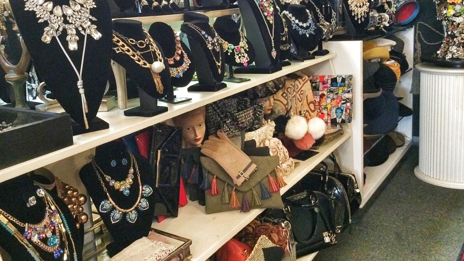 City Antiques sells more than just antique furnishings, they also sell retail items such as jewlery, handbags, accessories, and more!