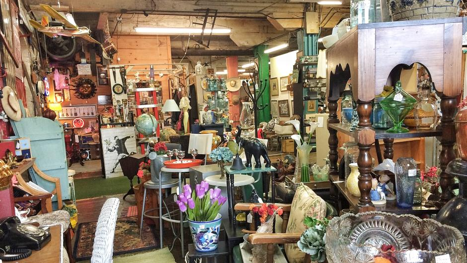 Warehouse One Antiques & Collectibles is one of the largest local antique shops with over 25,000-square-feet and over 100 vendors!