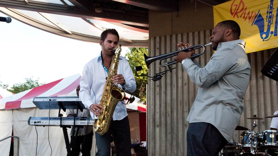 Enjoy plenty of performances during the eighth-annual Grand Rapids Jazz Fest at Rosa Parks Circle.