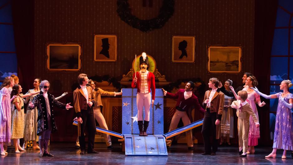 Grand Rapid Ballet's production of the Nutcracker is a beloved holiday tradition.
