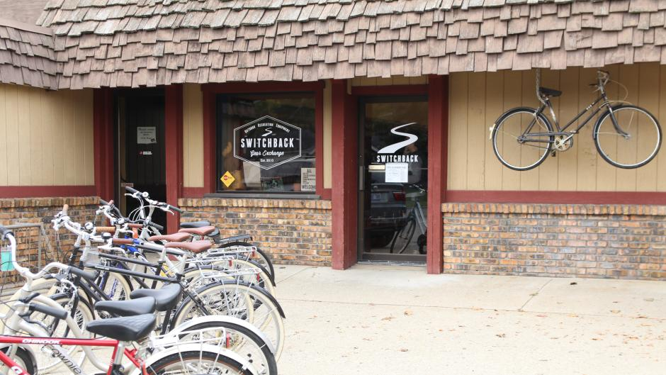 Switchback Gear Exchange has products for people of all skill sets that are looking for biking, hiking, and camping gear.