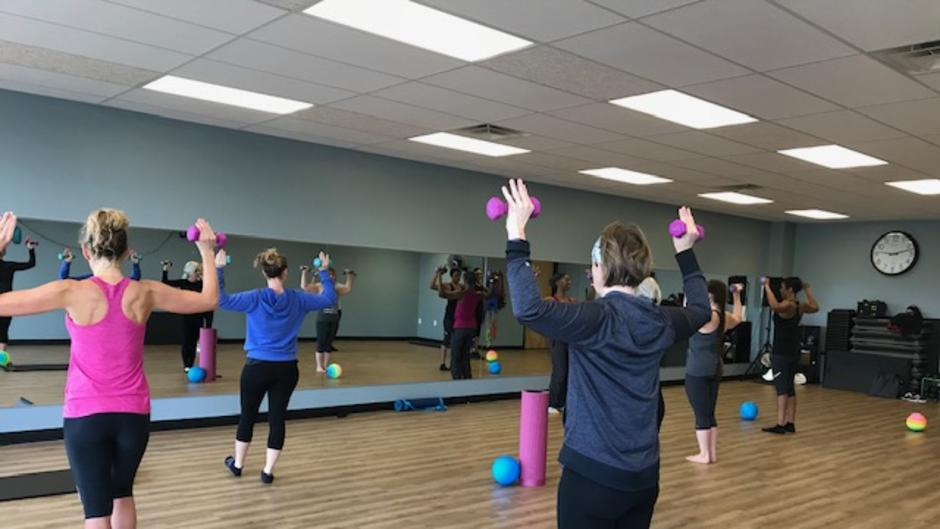 Every Rhythm Fitness Studio class is geared toward getting the body moving for maximum results.