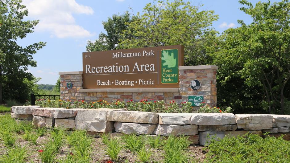 Millennium Park Recreation Area near Grand Rapids