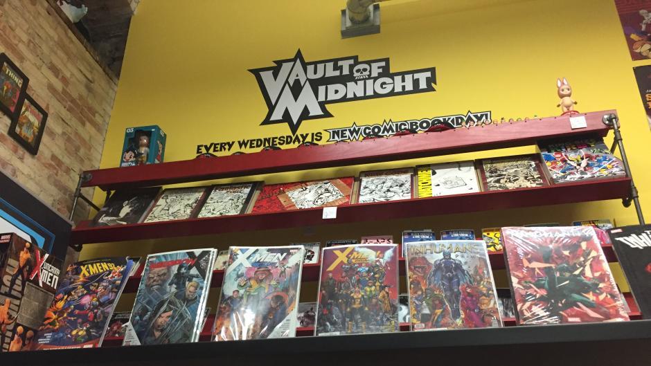 Vault of Midnight comics