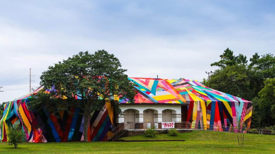 Kaleidoscopic by Amanda Browder - MLK Park