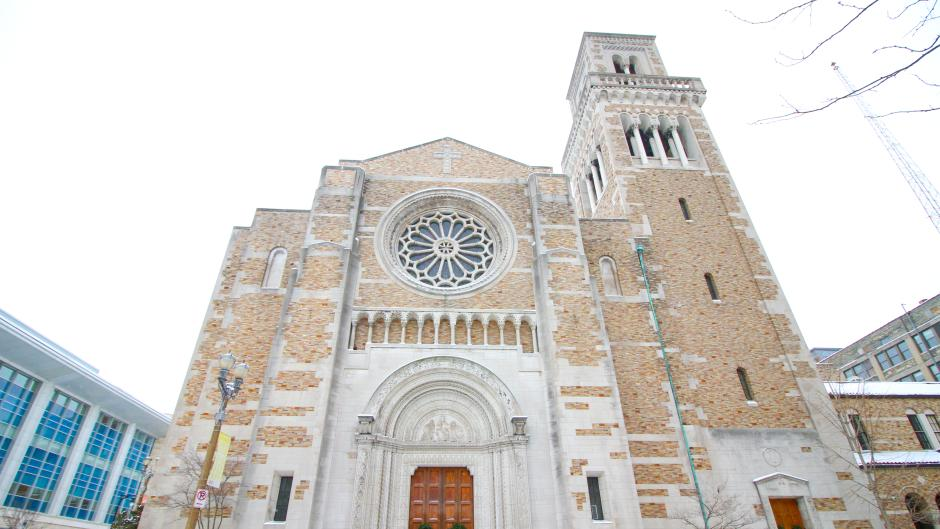 The historic Fountain Street Church will be home to the I DREAM performance.