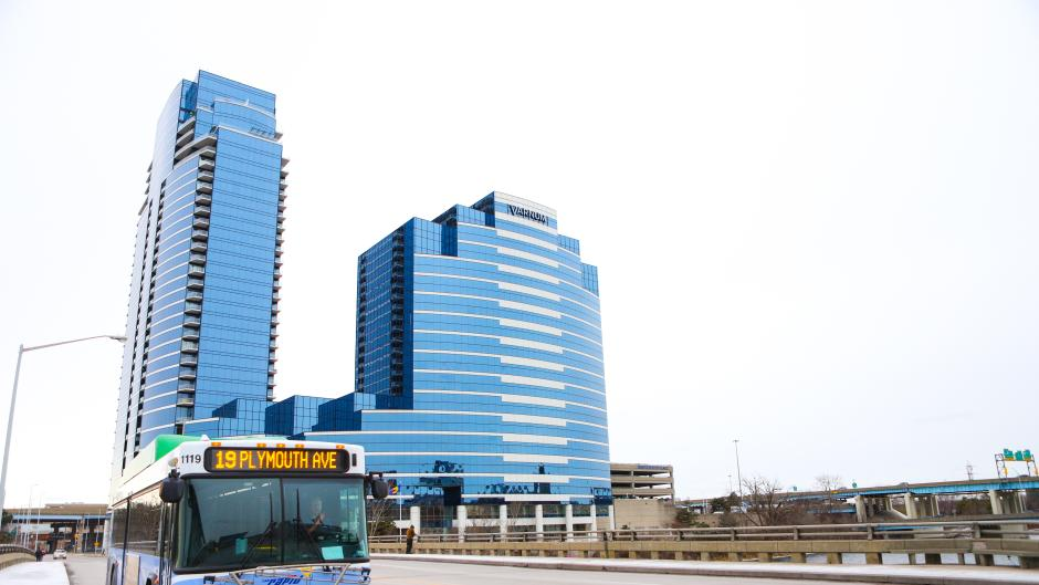 Fact: The Rapid's Route 19 carries an average of 1,100 riders every day.
