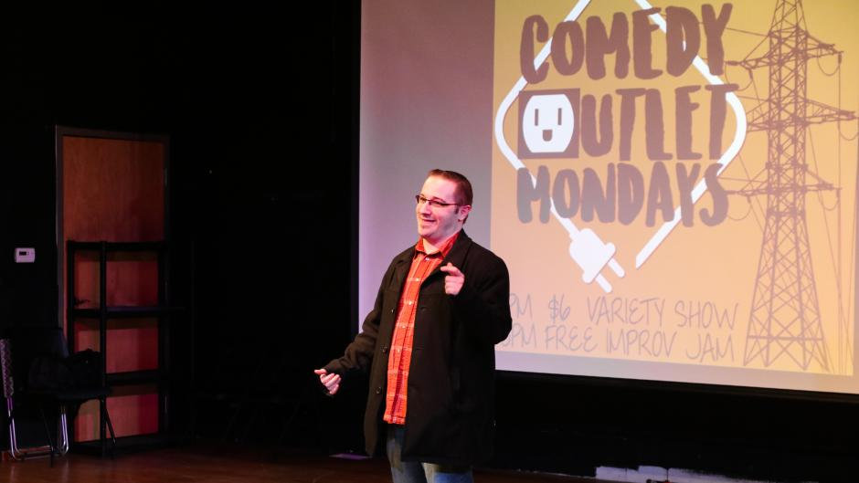 Comedy Outlet Mondays is now hosted at The Comedy Project.