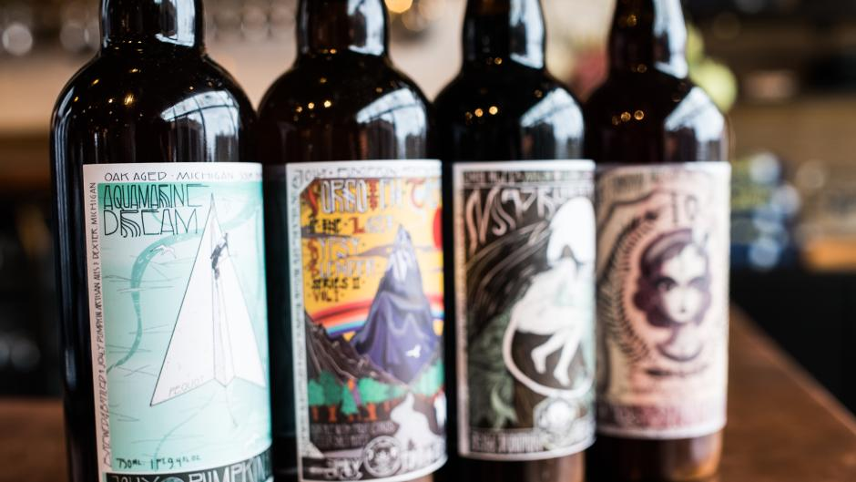 Jolly Pumpkin is known for its unique sour beers, and collaborations with breweries across the nation.