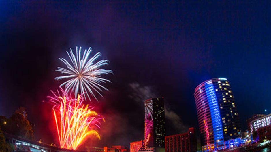 July 4th celebration in Grand Rapids