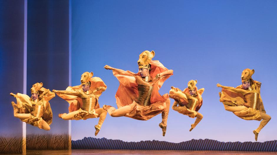 Disney's The Lion King performance courtesy Broadway Grand Rapids