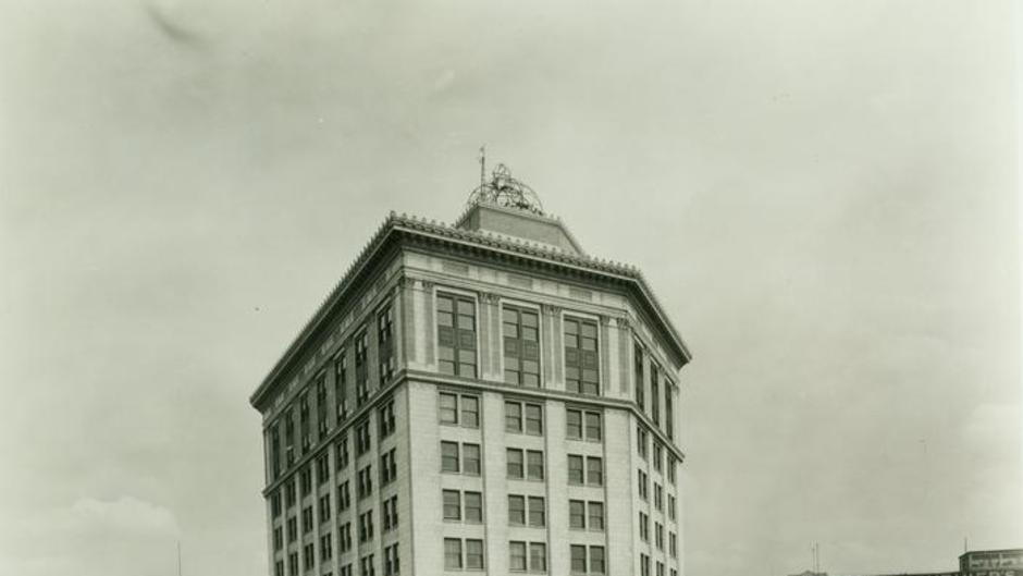 The 100+ year-old McKay Tower has grown along with Grand Rapids.