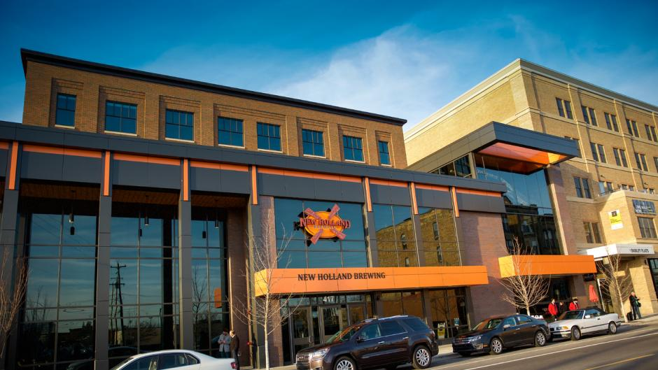 New Holland - The Knickerbocker is just one of the locations that Grand Rapids Beer Runs meets.