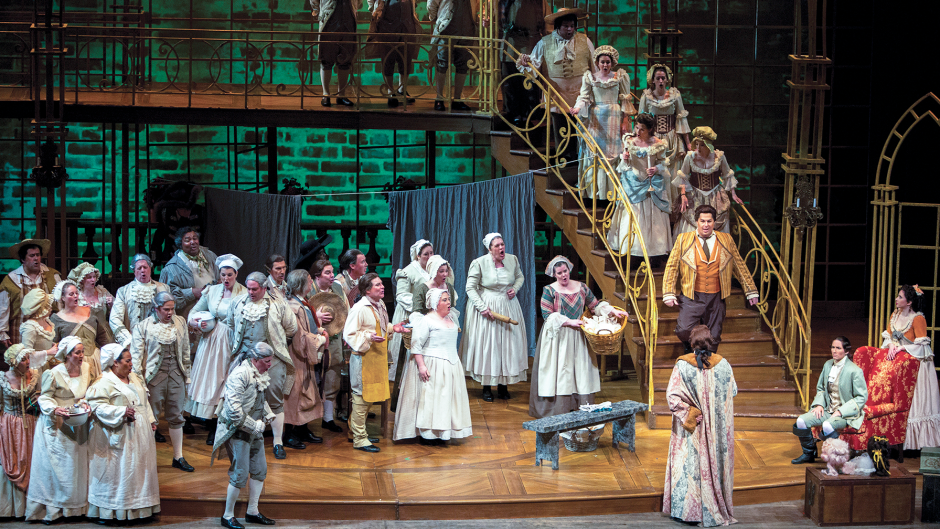 "Opera Grand Rapids performing ""The Marriage of Figaro"" in May 2018."