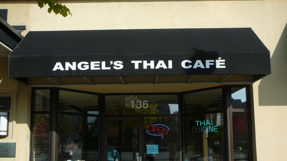 Angel's Thai is located in downtown, just off Rosa Parks Circle.