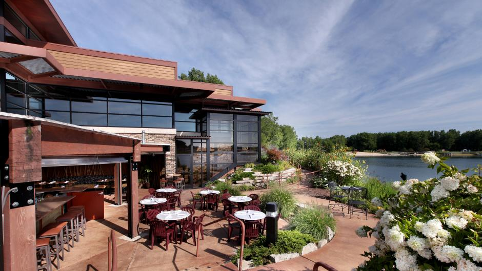 With live music indoors and a beautiful outdoor patio, Blue Water Grill has it all!