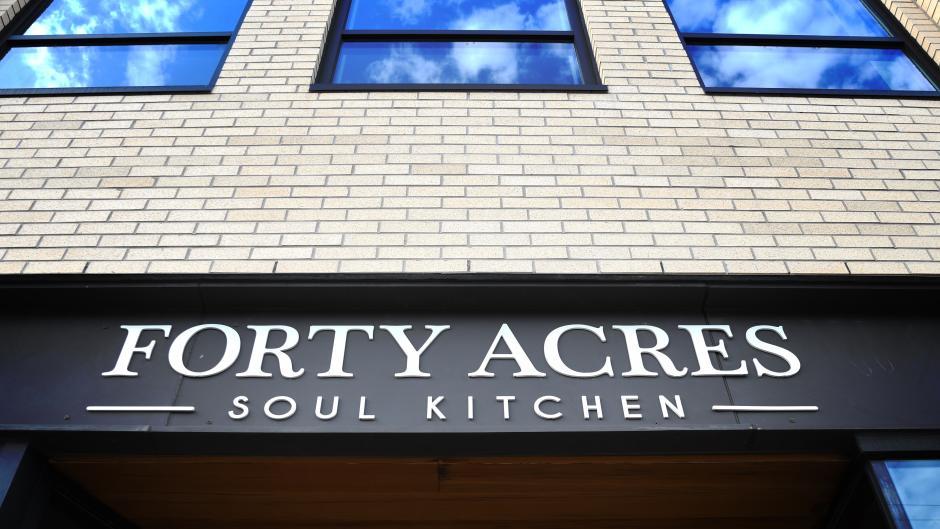 Forty Acres Soul Kitchen Exterior