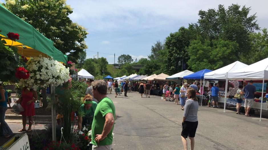 The seasonal Rockford Farmer's Market is open every Saturday from May to October from 8 AM to 1 PM.