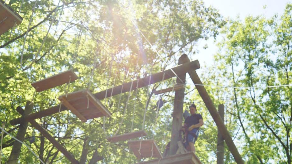 Pro Tip: Book your climbing experience at TreeRunner Adventure Park in advance, as time slots tend to book quickly.