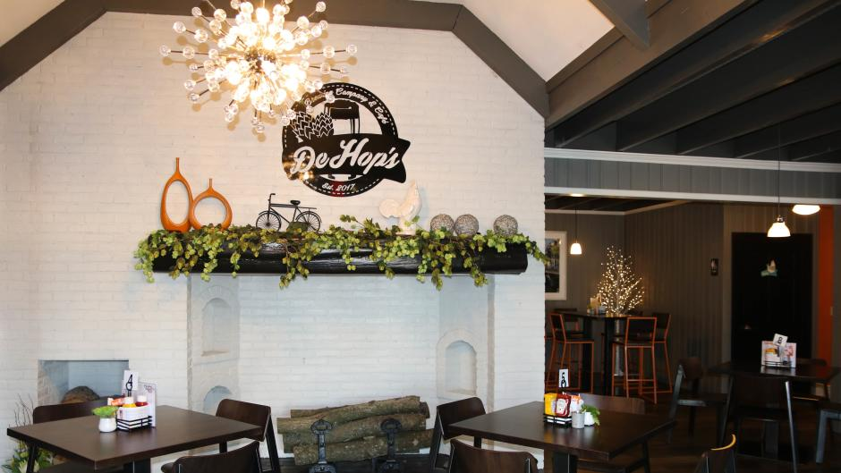 DeHops Brewing Company & Café's relaxed environment makes for an enjoyable time out with friends or family.