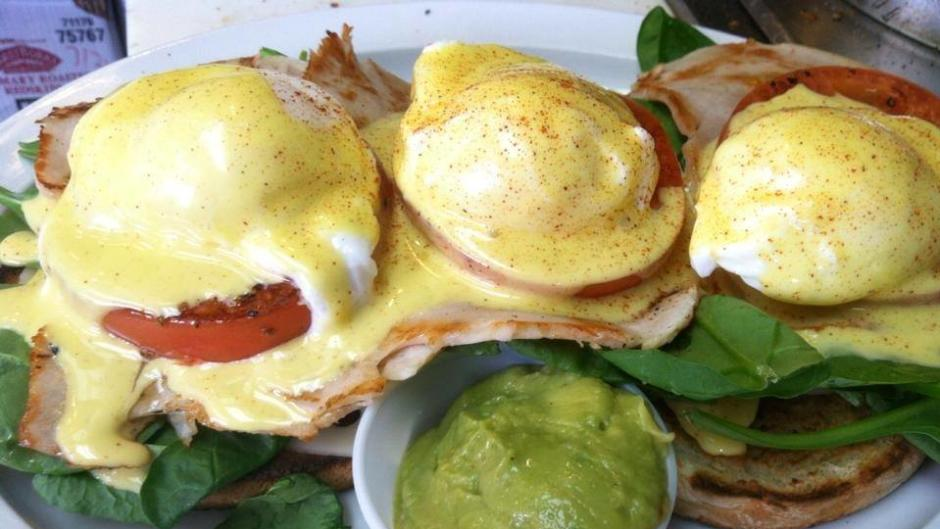 Get the classic or switch it up with one of Wolfgang's eggs Benedict variation.