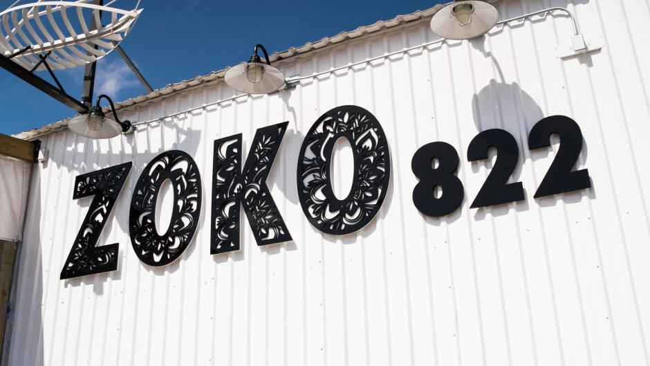 Zoko 822 is one of the newest restaurants in the Monroe North area.