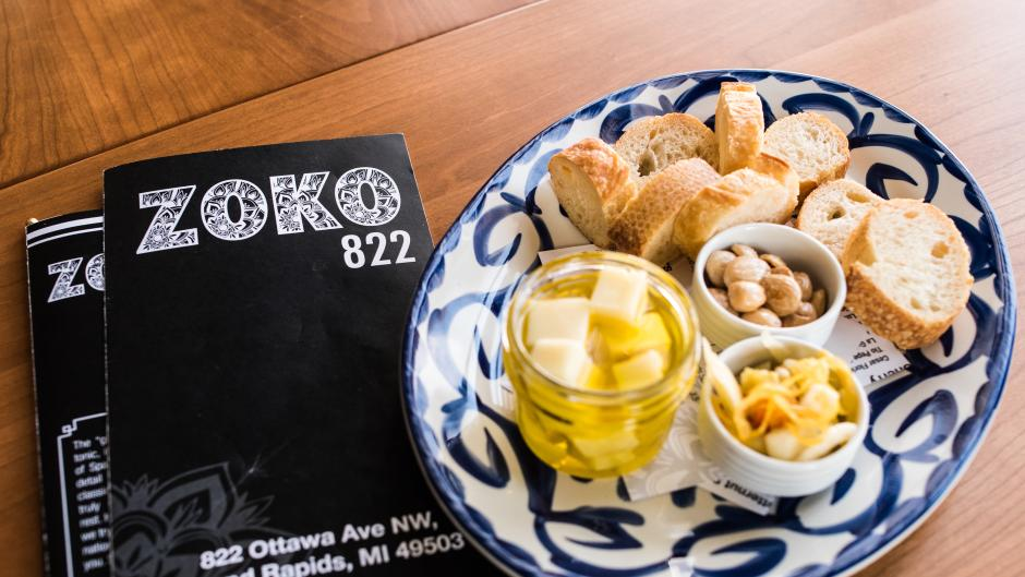 Fun fact: Did you know that gin-and-tonic is the national drink of Spain? Zoko 822 of Grand Rapids welcomes you to view its Zoko 822 Gin Book that features over 70 gins along with four tiers of gin tasting flights!