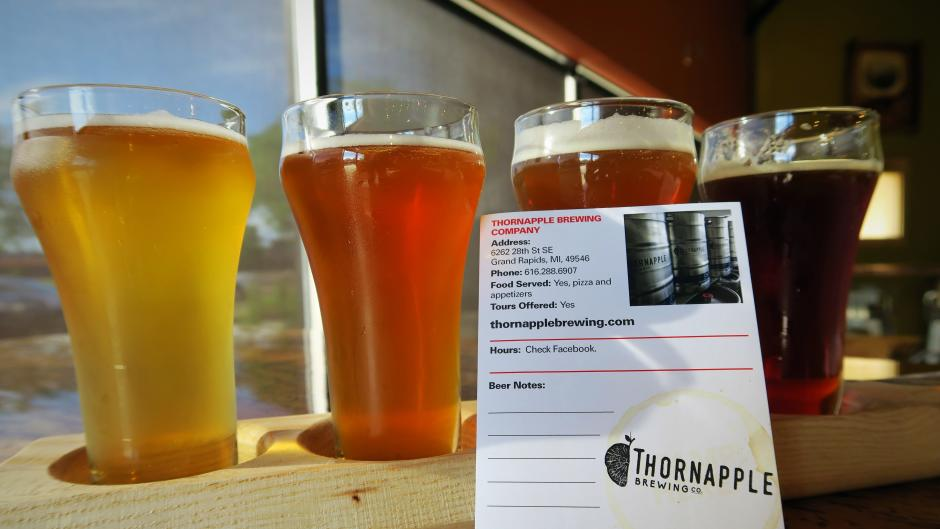 Thornapple Brewing is in the Brewsader app or can be added as a custom page to the paper passort.