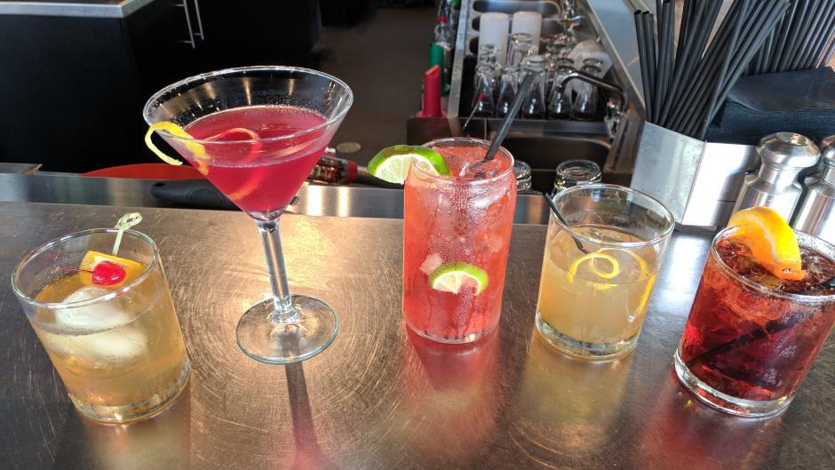 Ada Pour House cocktails