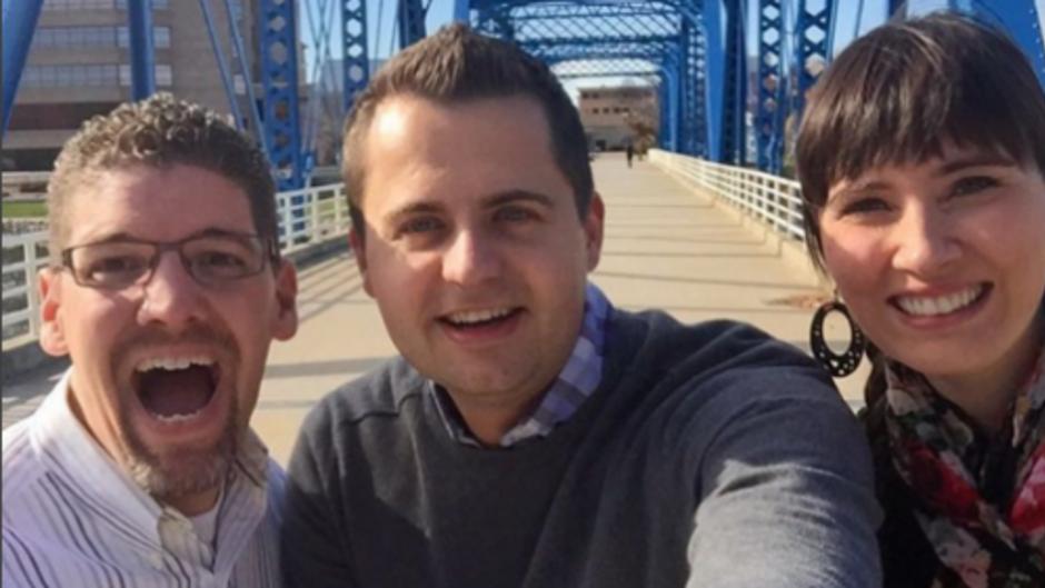 Selfie on the Blue Bridge