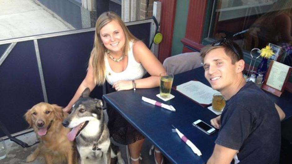 Diners Enjoying Dinner at One Trick Pony with Pets
