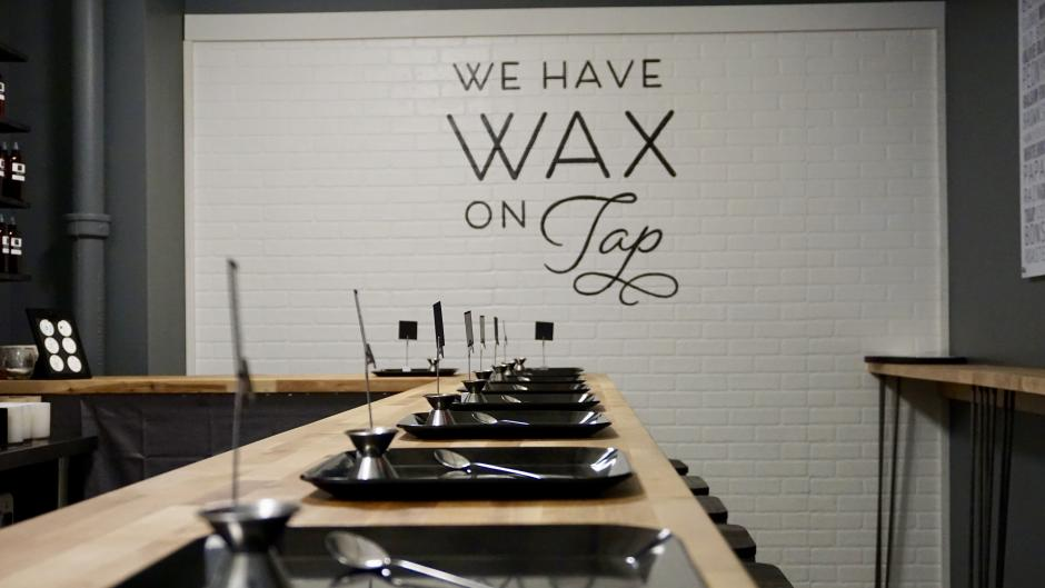 Combine your scents at Wax Poetic candle bar in Grand Rapids