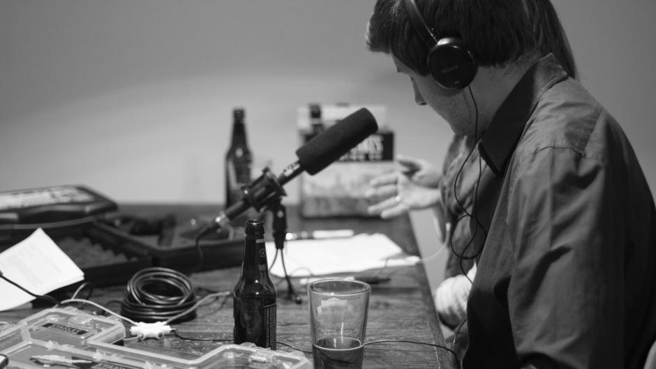 Production of iheart Grand Rapids podcast
