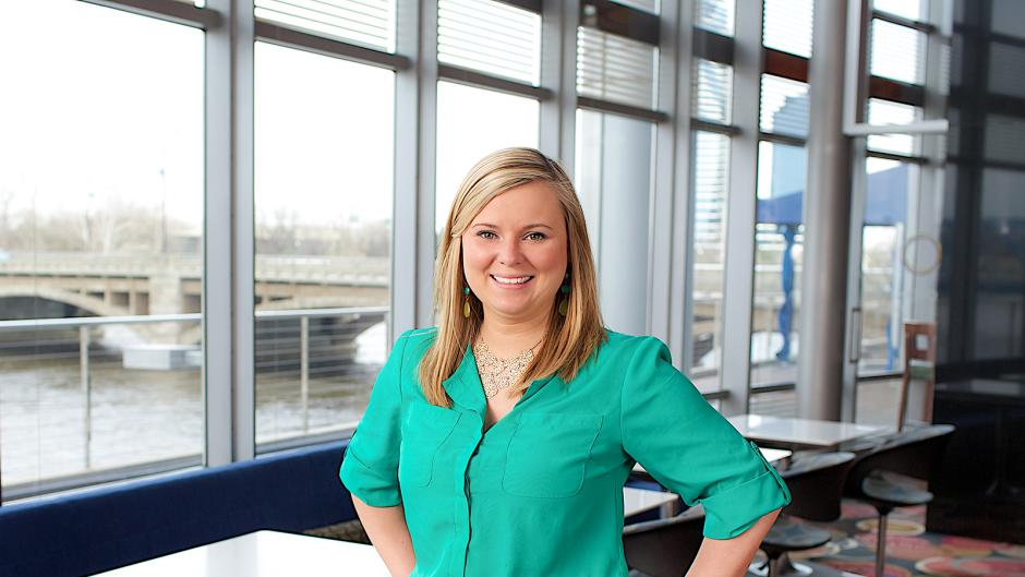 Krystal Kirby, Group Sales Event Manager for Experience Grand Rapids,