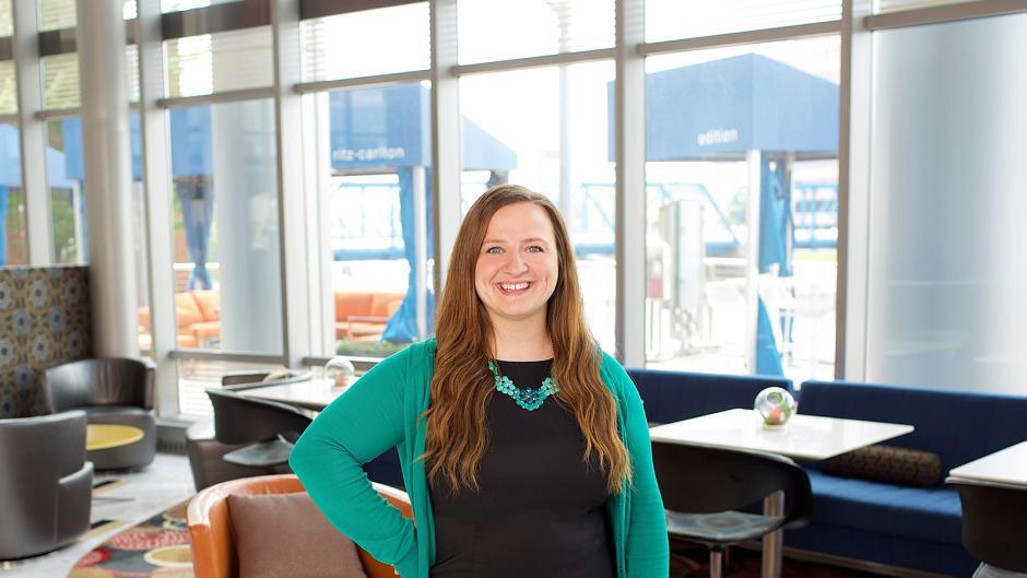 Laura Edgington, former Client Services Director at TwoSix Digital
