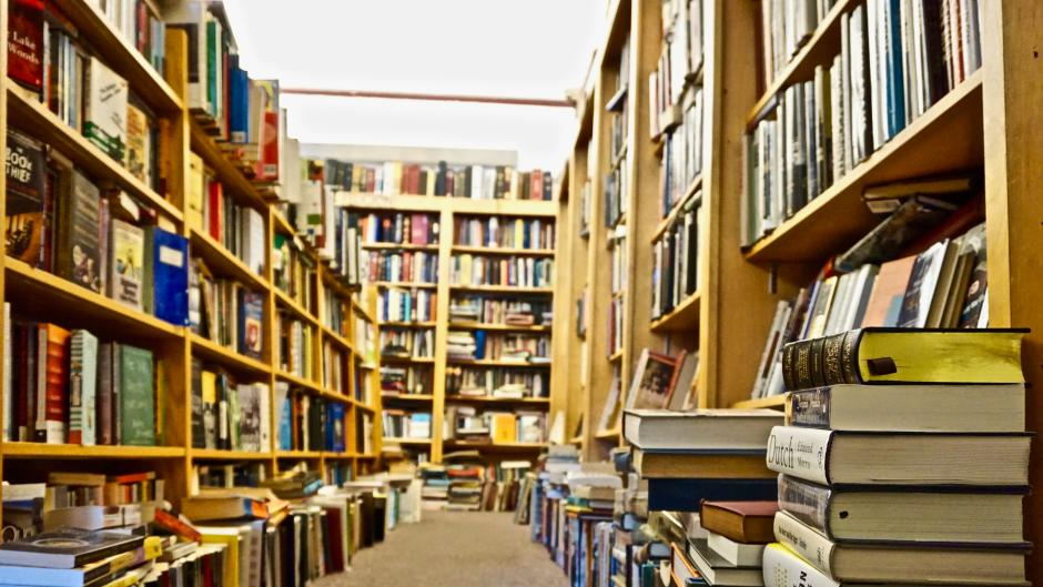 You can browse used books at several stores throughout Grand Rapids.