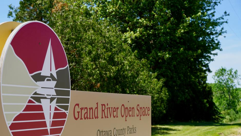 Open Space Park offers pristine views of the Grand River to enjoy with your meal.